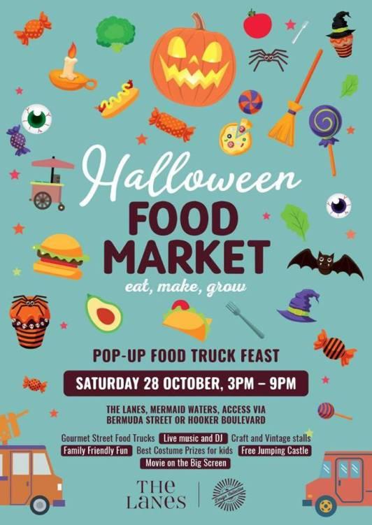 Halloween market poster